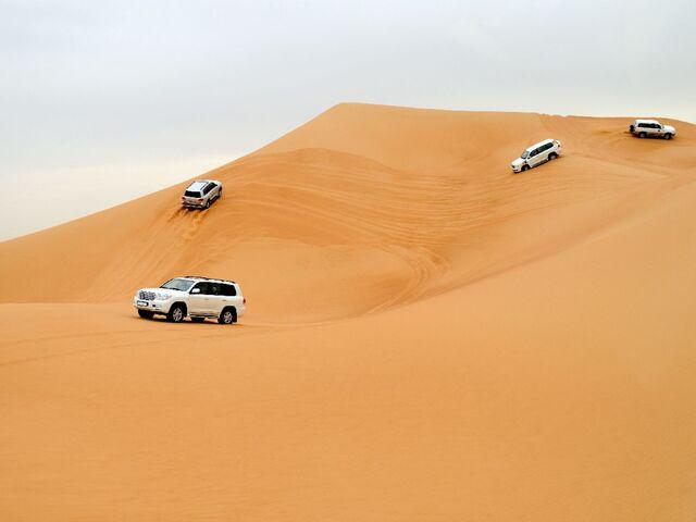 Púštne safari v dubaji