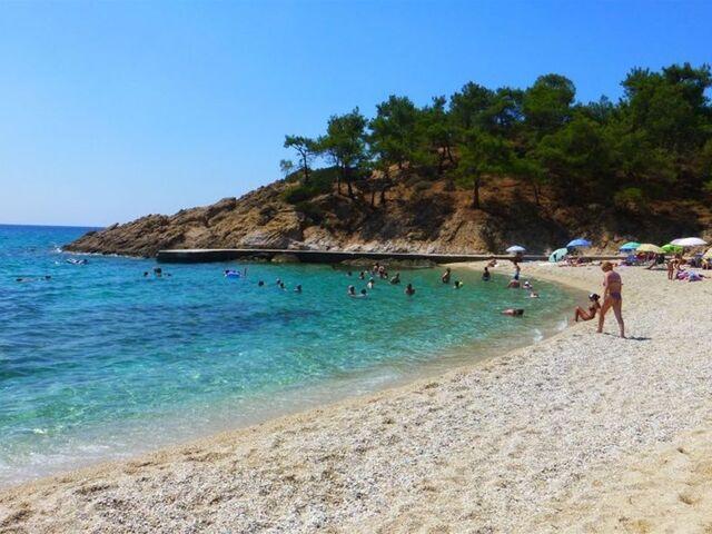 Thassos pláž