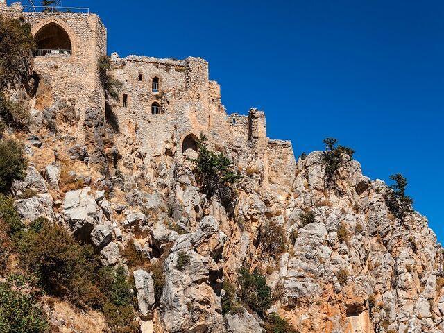 Hrad svätého hilariona na cypre