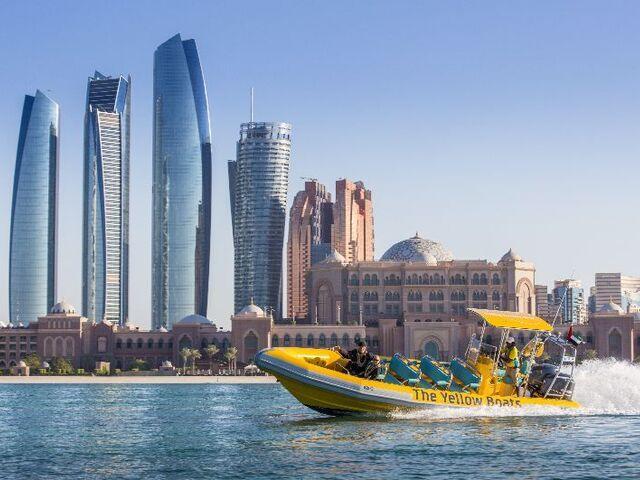 Vyhliadkové plavby v abú dhabí