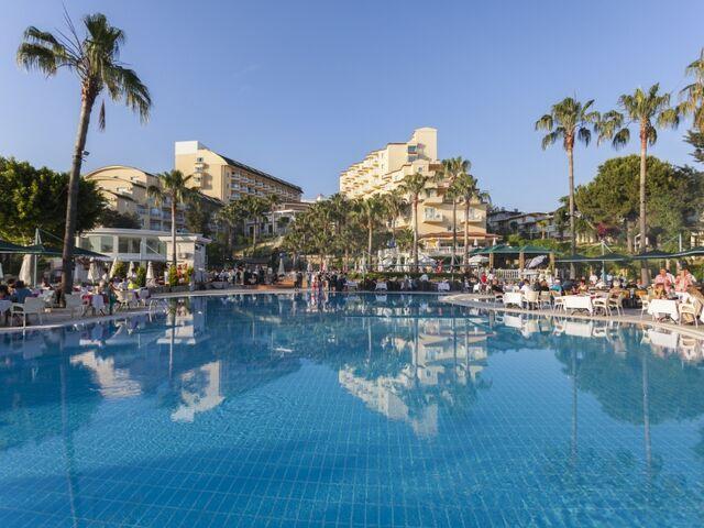 Bazény hotela iz flower v turecku