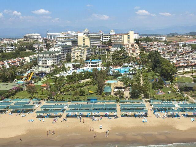 Pláž hotela iz flower v turecku