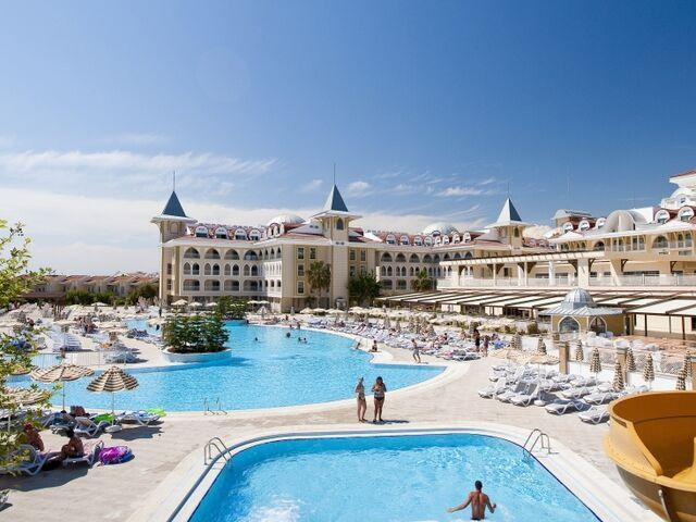 Areál hotela side star v turecku