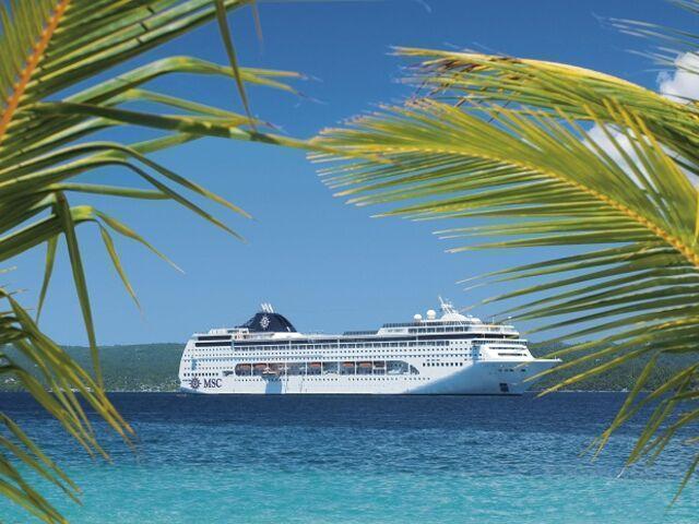 Výletná loď v karibiku