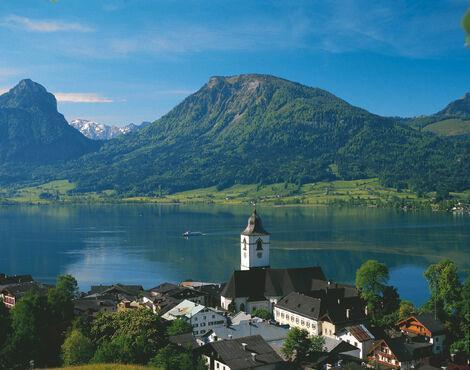 Wolfgangsee, Rakúsko