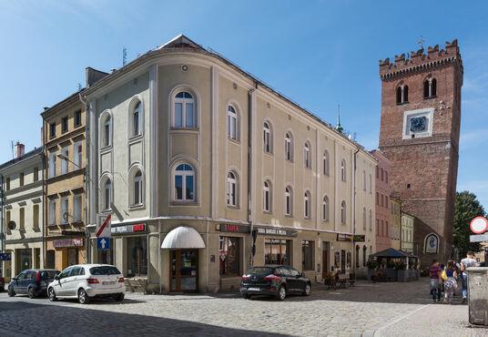 Šikmá veža v poľsku