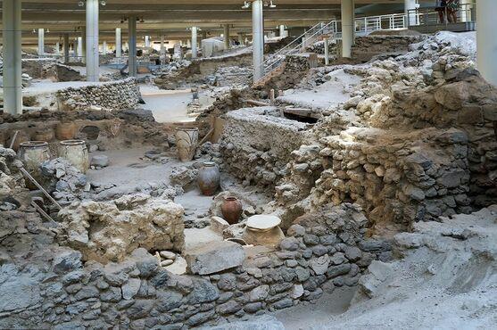 Archeologické nálezisko Akrotiri, Santorini