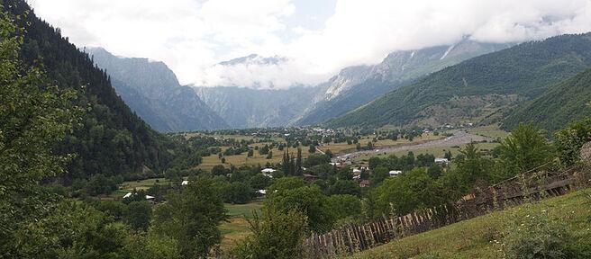 Becho, Gruzínsko