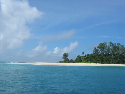 Ostrov cousin seychely