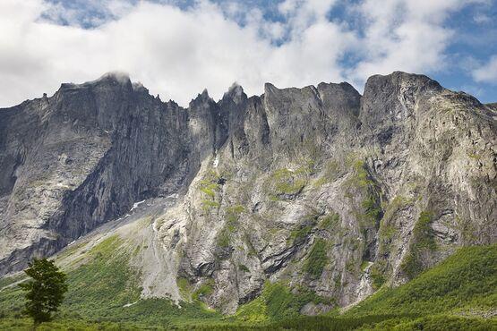 Trolia stena – Trollveggen, Nórsko