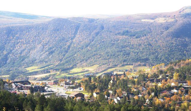Mestečko Dombås, Nórsko
