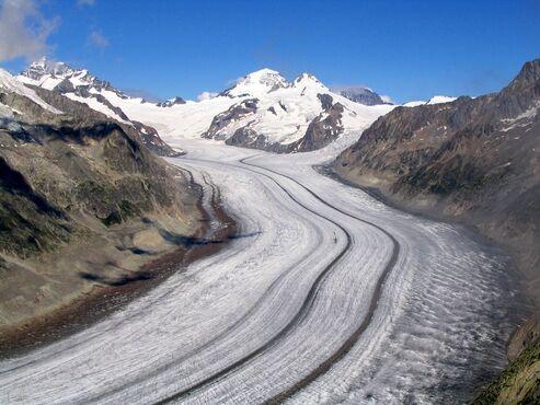 Aletsch-gletscher, Švajčiarsko
