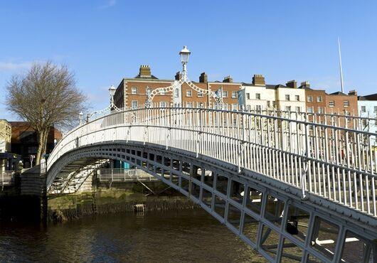 Halfpenny Bridge, Írsko