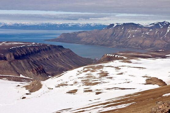 Isfjorden, Nórsko