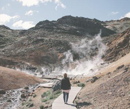 Krýsuvík, Island