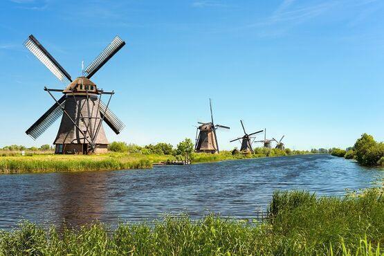 Kinderdijk, Holandsko