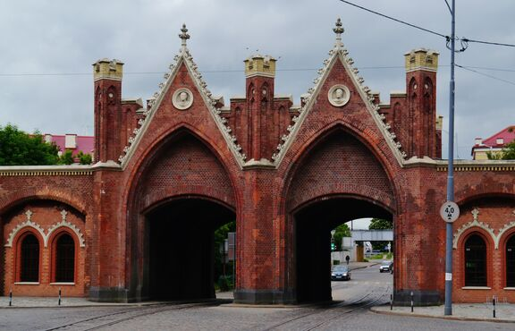 Brandenburská brána v kaliningrade