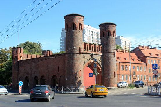 Sackheimská brána v konigsbergu