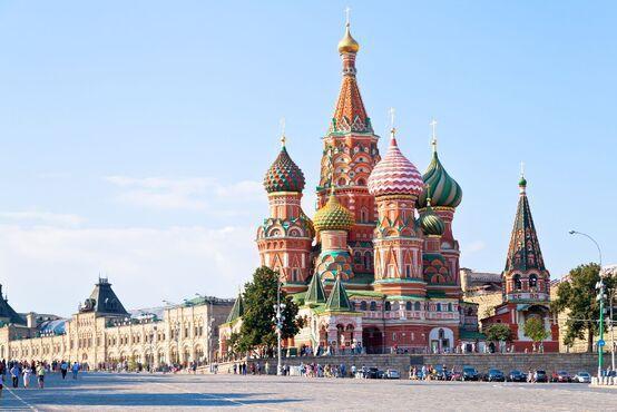 Červené námestie, Rusko