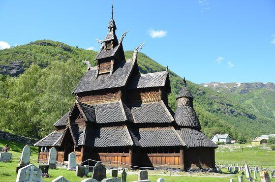 Borgund, Nórsko