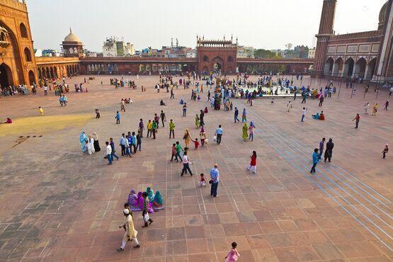 Staré Dillí, India