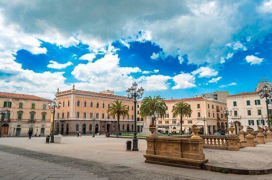 Sassari mesto na sardínii v taliansku