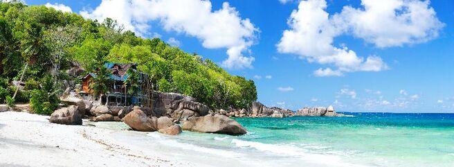 Pláž v mahe