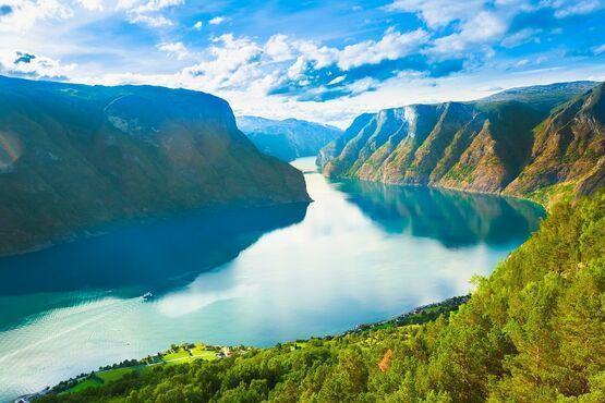 Sognefjorden, Nórsko