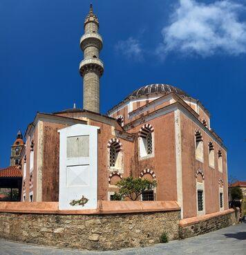 Sulejmanova mešita na rodose v grécku