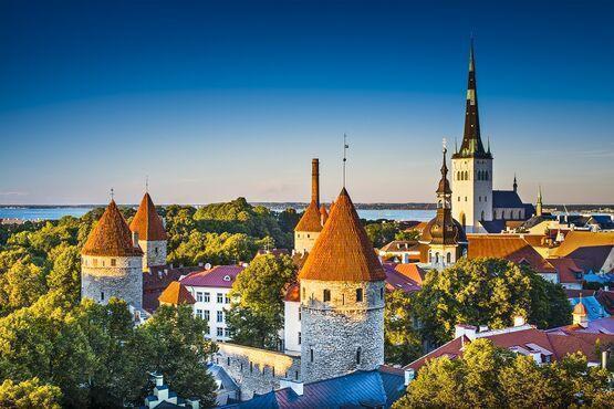Hradné návršie Toompea, Estónsko