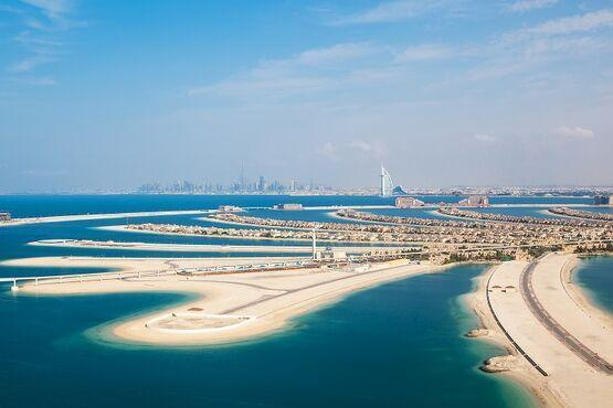 Palmový ostrov, Spojené arabské emiráty