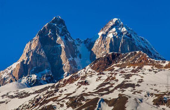Mt. Ushba, Gruzínsko