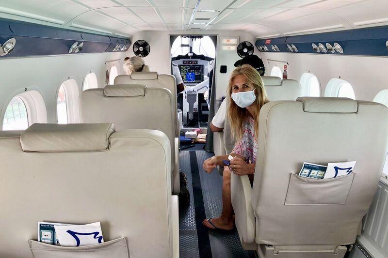 Norika v lietadle