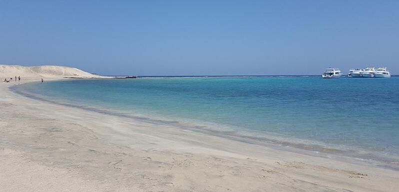 Pláž hotea jaz costa mares v egypte