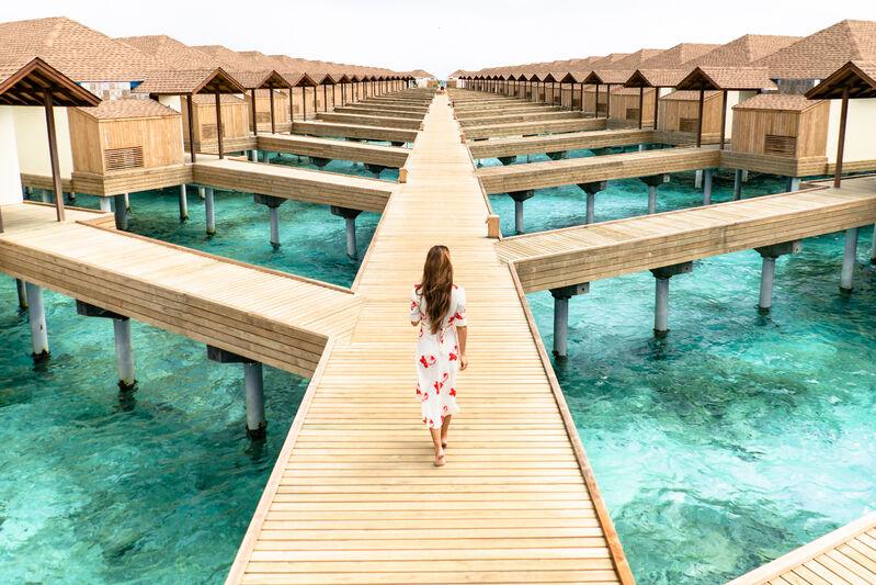 Mólo na maldivách