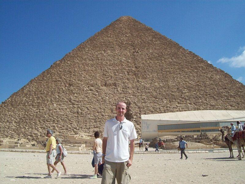 Veľká pyramída v Gíze