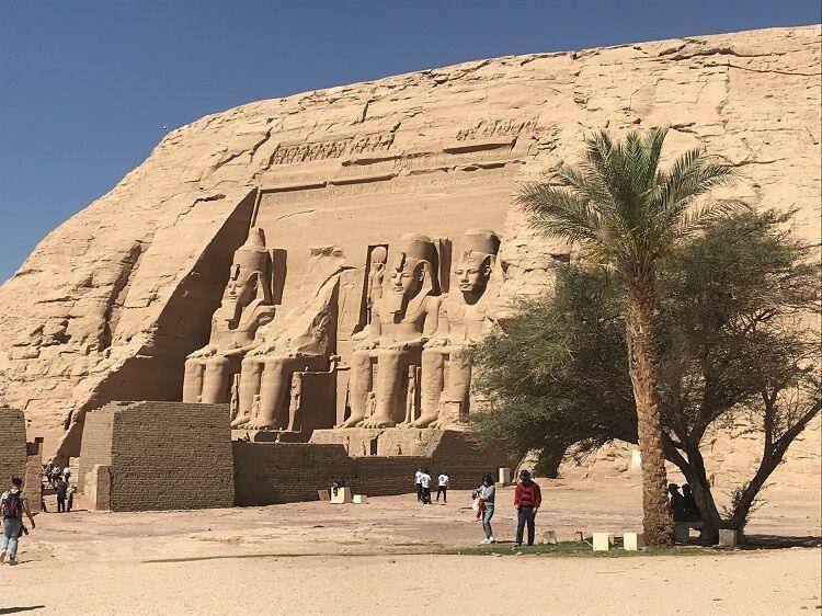 Abu simbel v egypte