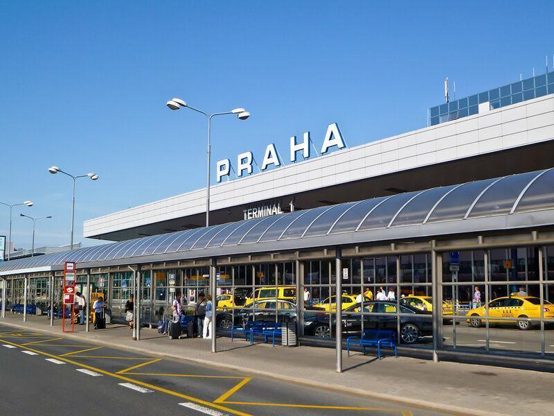 Pražské letisko ruzyne