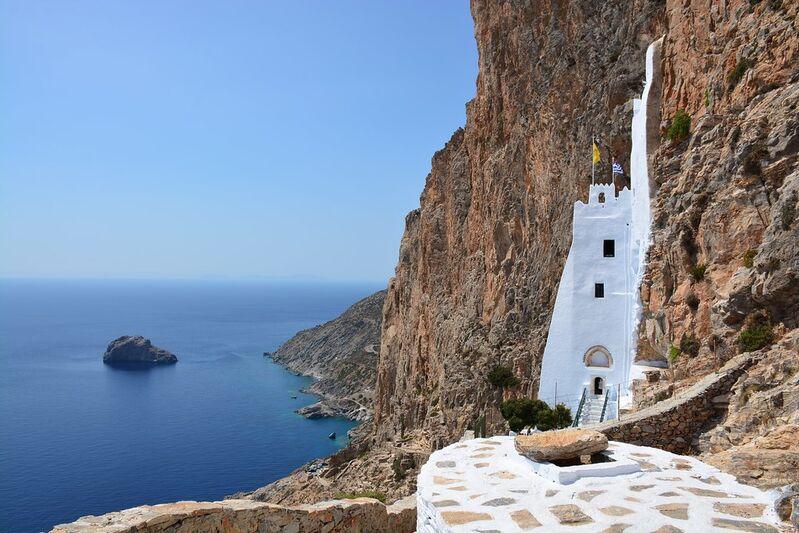 Ostrov amorgos v grécku