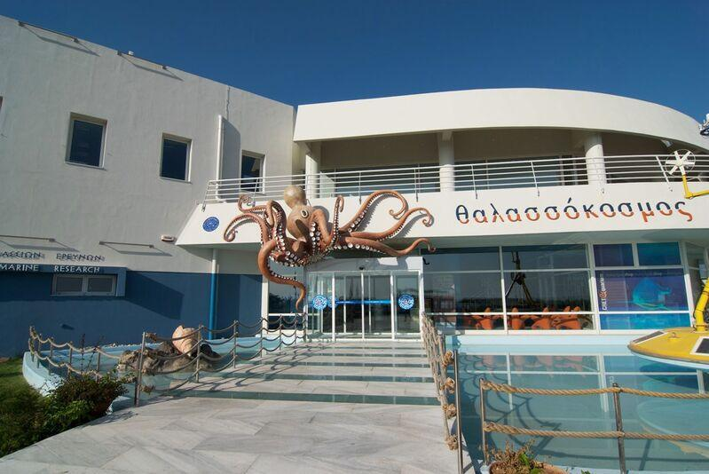 Aquarium na kréte