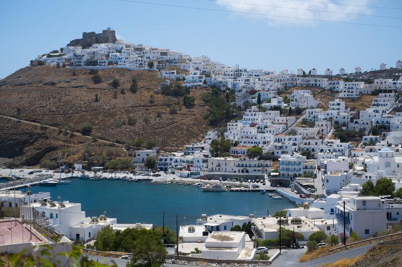 Ostrov astypalea v grécku