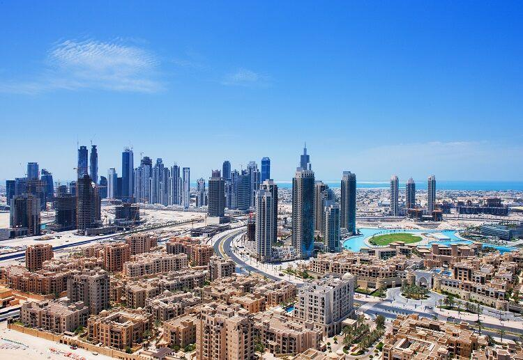 Dubaj v spojených arabských emirátoch