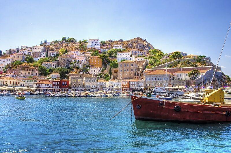 Grécky ostrov Hydra