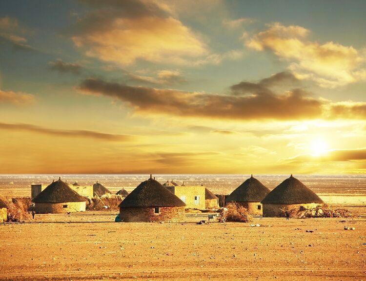 Tukul domčeky v etiópii