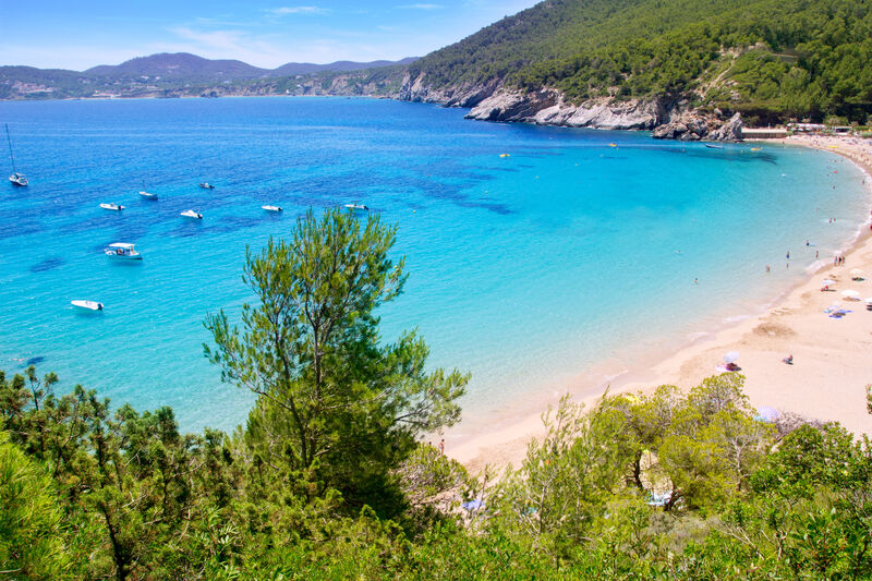 Cala de Sant Vicent pláž