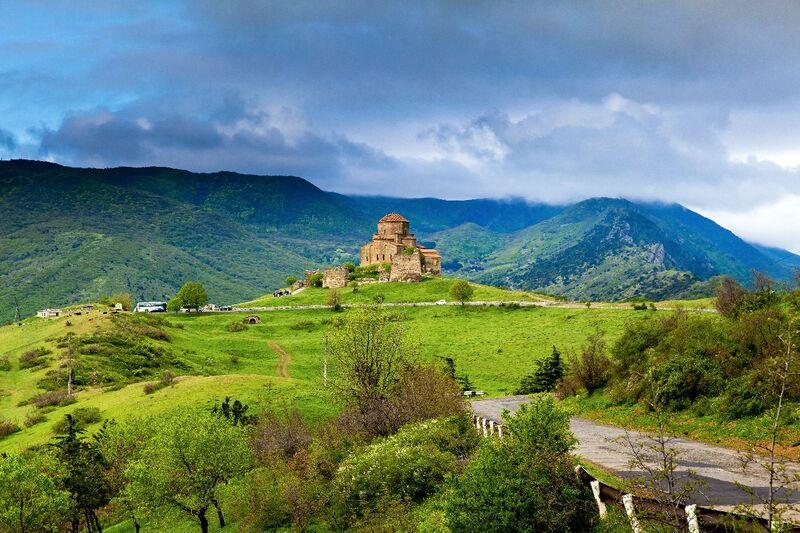 Kostol v gruzínsku