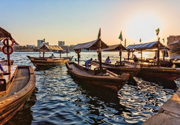 Tradičné loďky dhow
