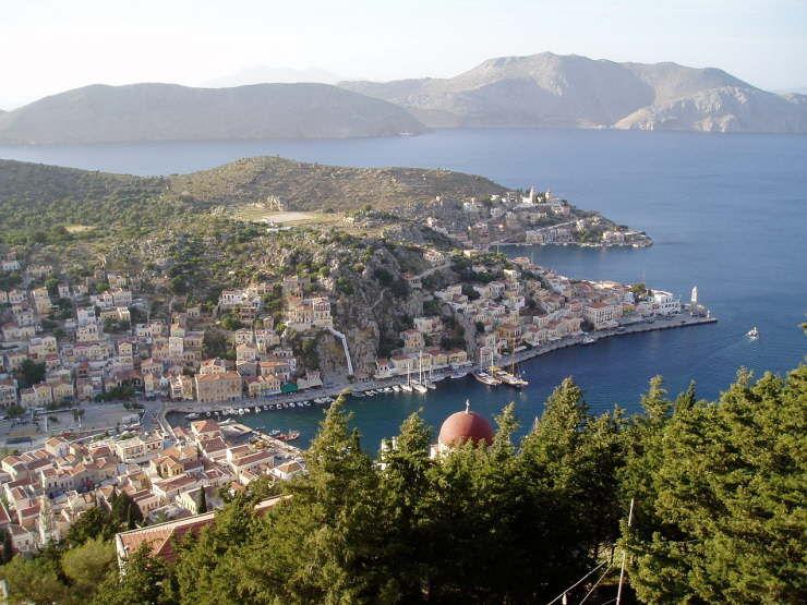 Ostrov symi v grécku