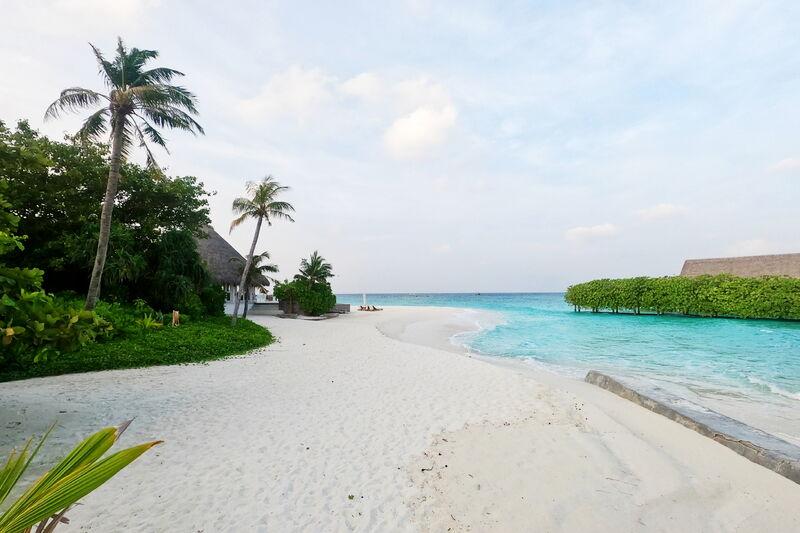 Pláž rezortu milaidhoo