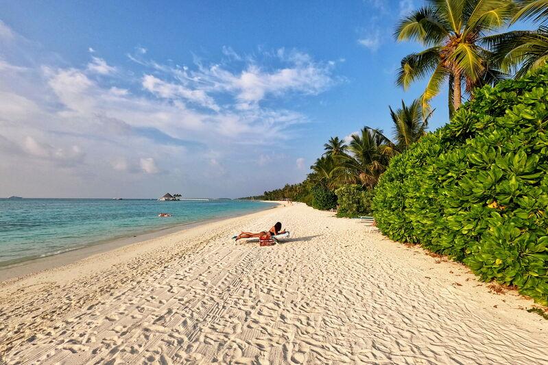 Pláž kandima maldives